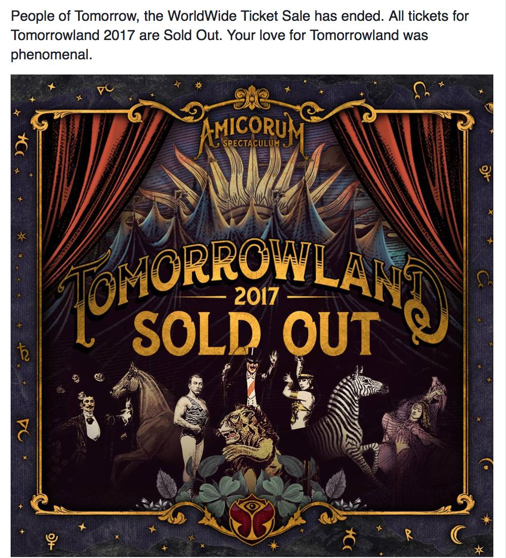 Tomorrowland 2017 cháy vé sau 5 tiếng mở bán, chịu chơi với máy bay thiết kế riêng - Ảnh 2.