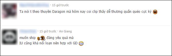 Fan Việt ship điên đảo cặp đôi G-Dragon và IU sau gif hát chung đáng yêu - Ảnh 5.
