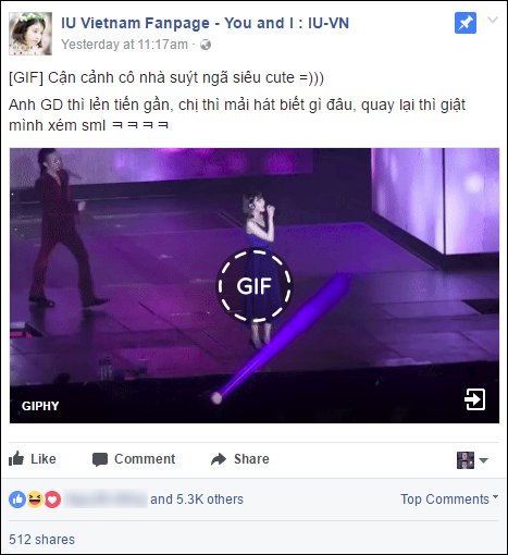 Fan Việt ship điên đảo cặp đôi G-Dragon và IU sau gif hát chung đáng yêu - Ảnh 2.