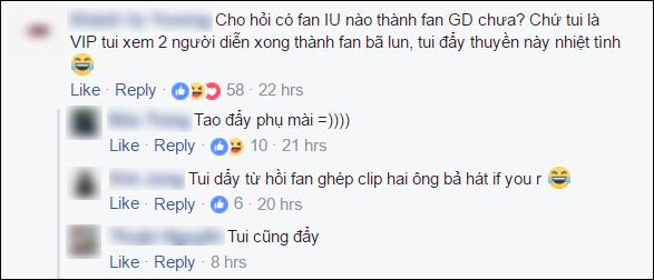 Fan Việt ship điên đảo cặp đôi G-Dragon và IU sau gif hát chung đáng yêu - Ảnh 7.