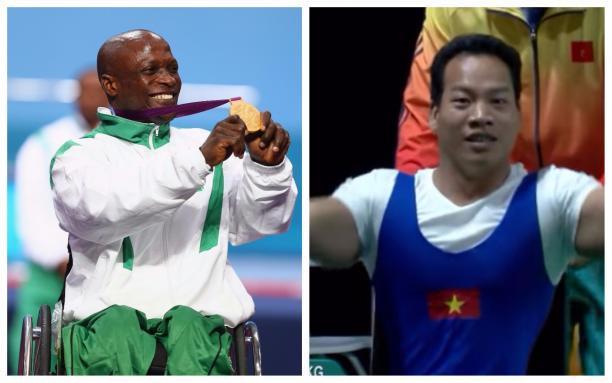 Lực sĩ khuyết tật Lê Văn Công đả bại nhà vô địch, phá luôn kỷ lục thế giới - Ảnh 3.