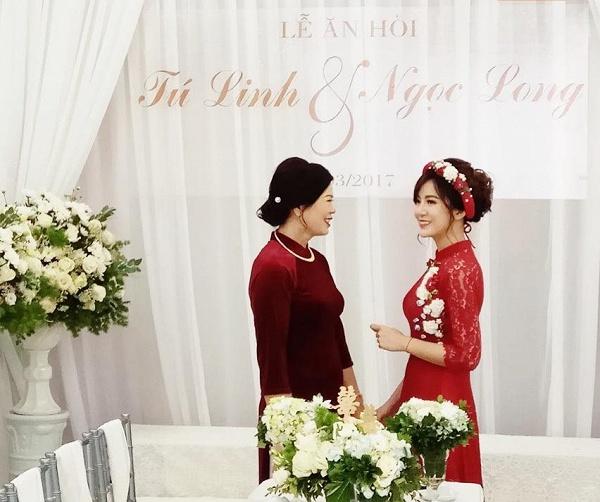 Hot girl Tú Linh M.U xinh đẹp rạng rỡ trong lễ ăn hỏi - Ảnh 8.