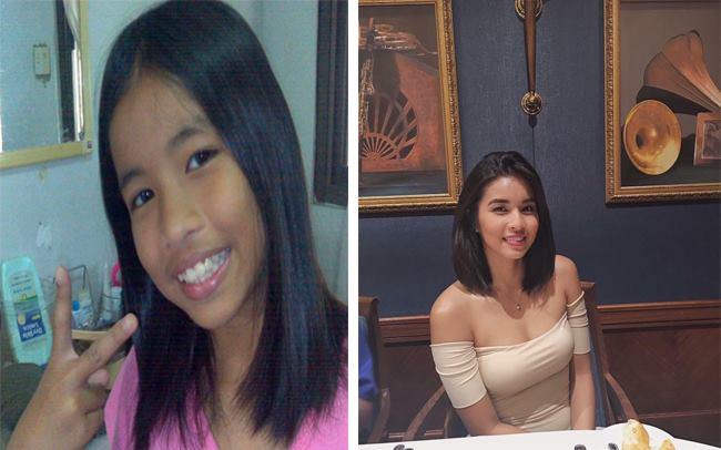 Thêm một màn dậy thì mỹ mãn của hot girl Philippines từng đen nhẻm và gầy gò - Ảnh 1.