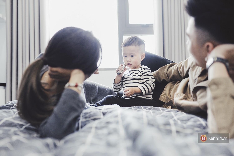 Gia đình trong mơ Trang Lou - Tùng Sơn: Có con là điều khó khăn nhất nhưng cũng hạnh phúc nhất! - Ảnh 11.