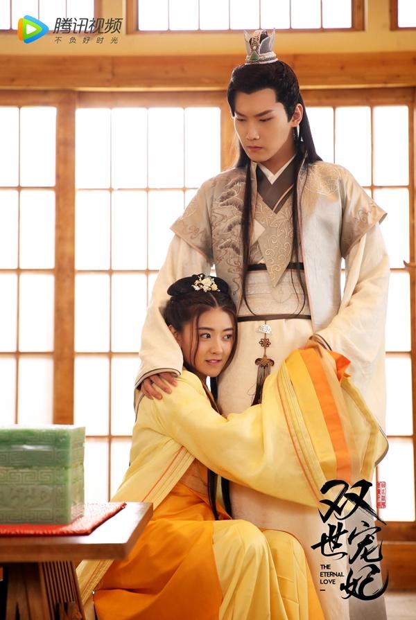 Hình Chiêu Lâm xót xa khi thấy Lương Khiết bị mẹ hành hạ trong phim Song thế sủng phi
