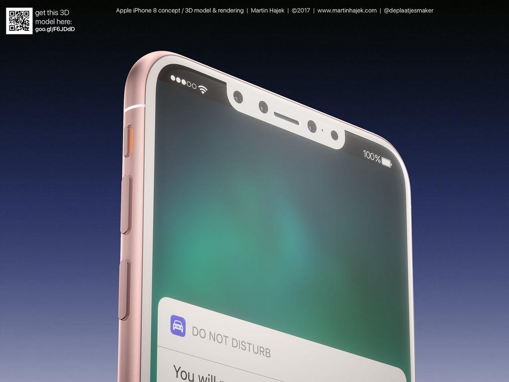 Cận cảnh vẻ đẹp mê mẩn của iPhone 8 có thể làm bạn dốc hết hầu bao để mua ngay - Ảnh 10.