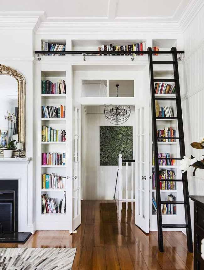 20 mẫu giá sách đẹp xuất sắc dù là người không thích đọc sách cũng muốn có trong nhà - Ảnh 35.