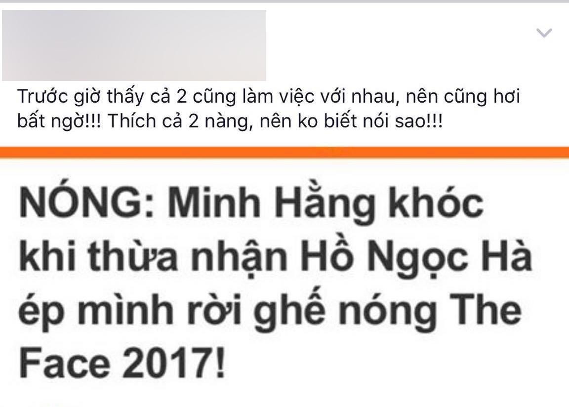Dân mạng dậy sóng khi Minh Hằng tiết lộ Hà Hồ chèn ép mình - Ảnh 5.
