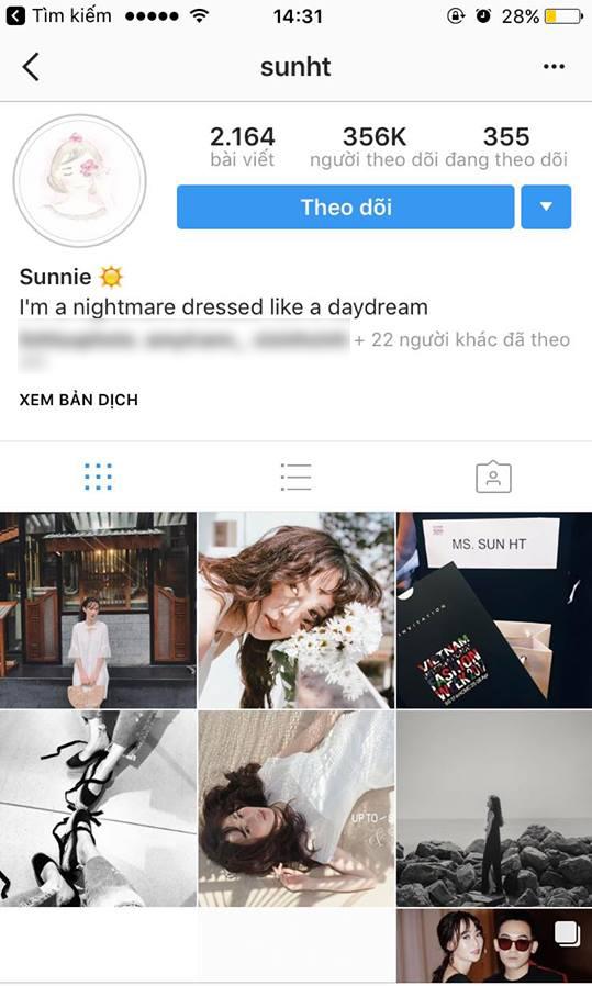 Phở và SunHt bất ngờ bỏ theo dõi nhau trên Instagram! - Ảnh 4.