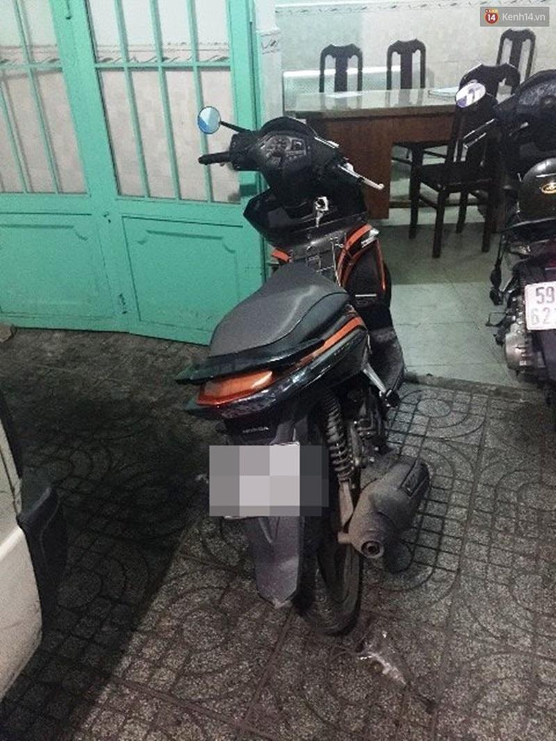 Cô gái trẻ bị đập đầu và cướp xe ngay trước cửa nhà trong đêm ở Sài Gòn - Ảnh 2.