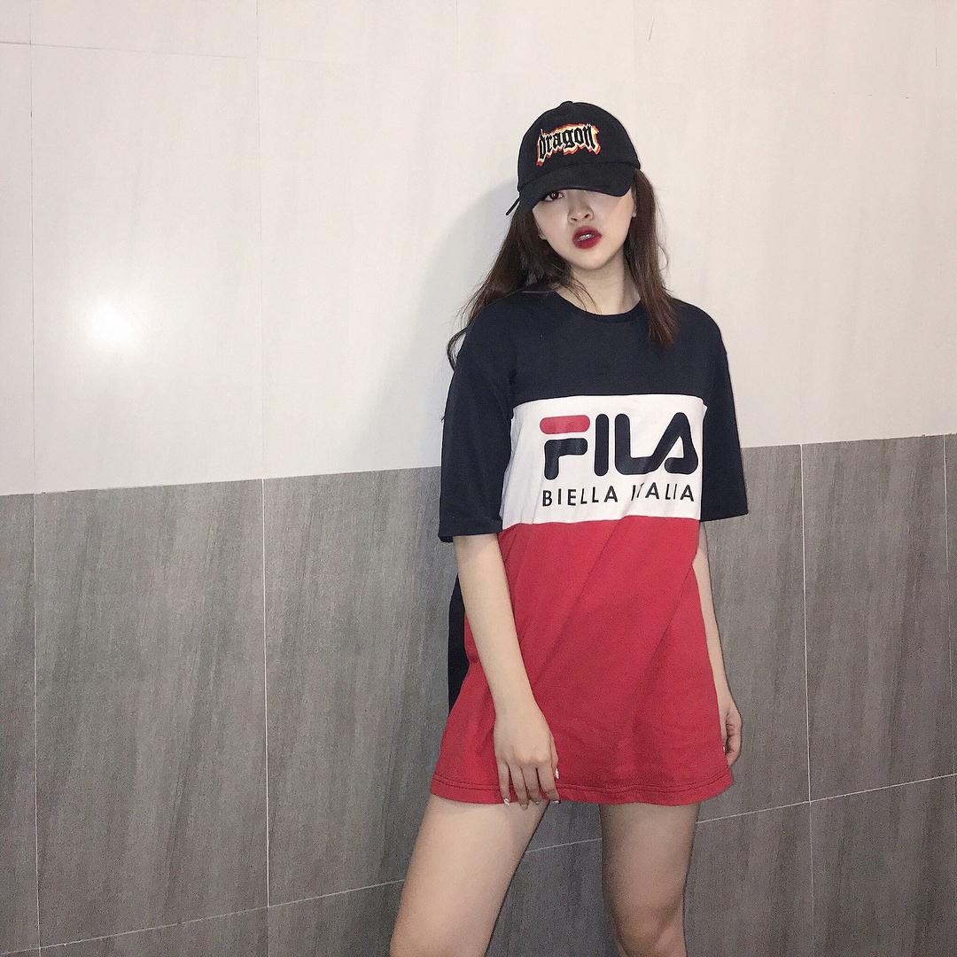 Giới trẻ châu Á người người nhà nhà đang diện T-shirt và sneaker Fila chất phát ngất ra sao? - Ảnh 16.