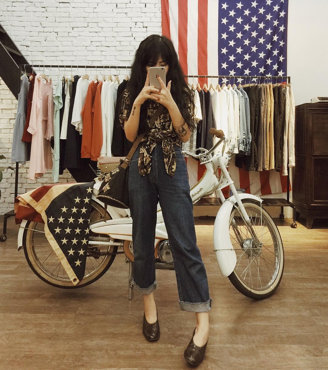 Hiếm ai được như Louis Hà, hot girl mi nhon chỉ diện crop top và quần cạp cao mà vẫn đẹp quên sầu - Ảnh 20.