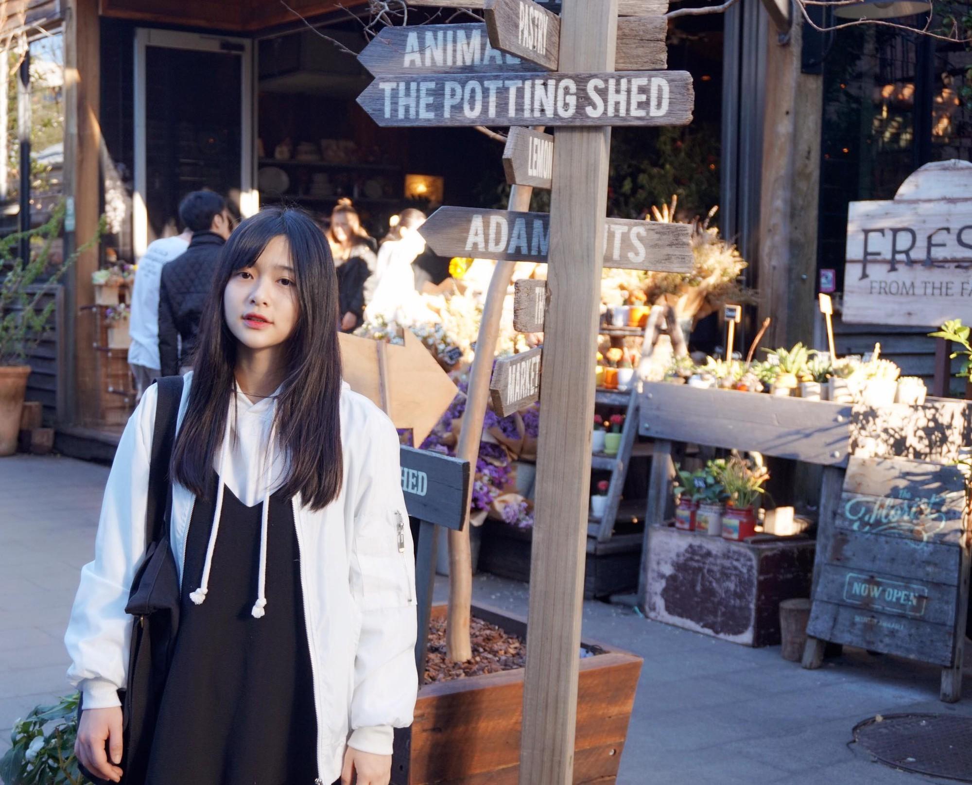 Đây là cô bạn du học sinh Việt với nụ cười má lúm đang được tìm khắp Facebook - Ảnh 8.
