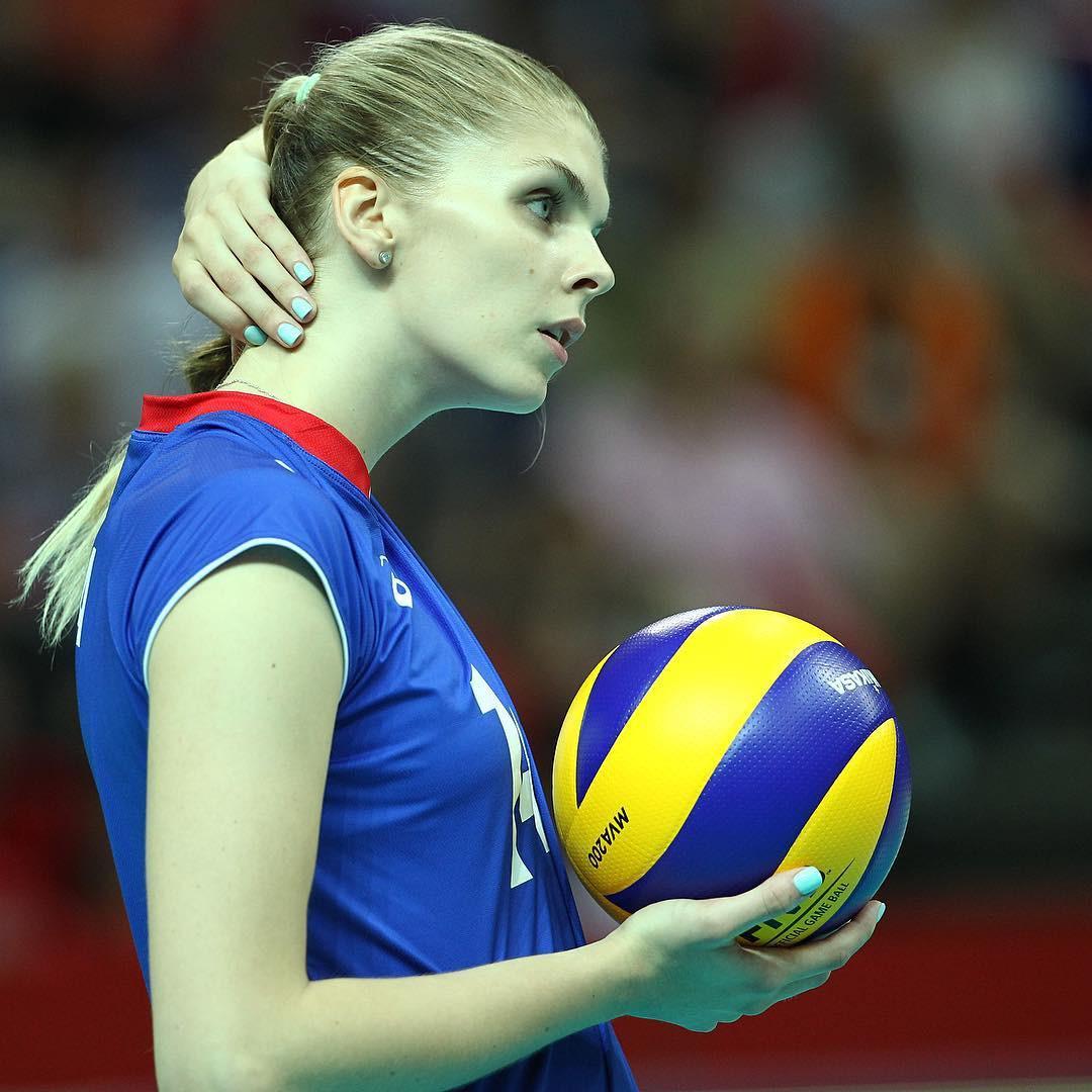 Vẻ đẹp của thiên thần bóng chuyền Nga - Irina Fetisova - Ảnh ...