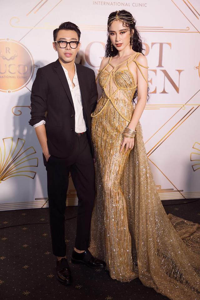 """Angela Phương Trinh - Nổi bật với bộ váy rườm rà như Nữ thần """"ngoi lên từ biển"""" - Ảnh 4."""