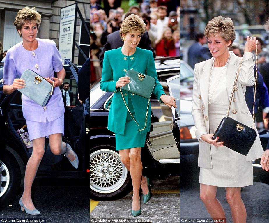 Công nương Diana, fashion icon hoàng gia duy nhất sở hữu đến 2 mẫu túi hàng hiệu đình đám được đặt theo tên mình - Ảnh 3.