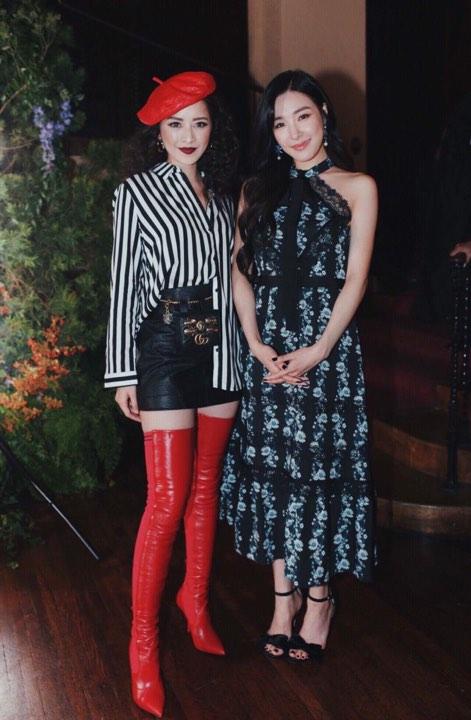 Chi Pu diện style lạ, trò chuyện vui vẻ với Tiffany trong sự kiện ra mắt BST H&M x ERDEM tại Mỹ - Ảnh 2.