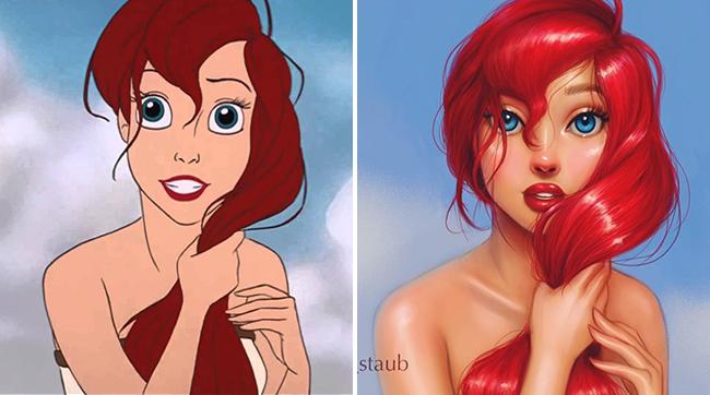 Không thể rời mắt khỏi các cô công chúa Disney sau khi đi phẫu thuật thẩm mỹ - Ảnh 1.