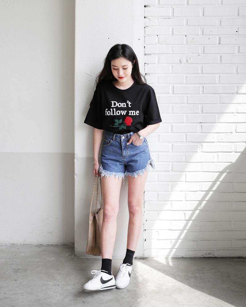 Mùa hè nhất định phải mặc jean shorts rồi, mix thế nào cũng đẹp ngất ngây thế này kia mà! - Ảnh 3.