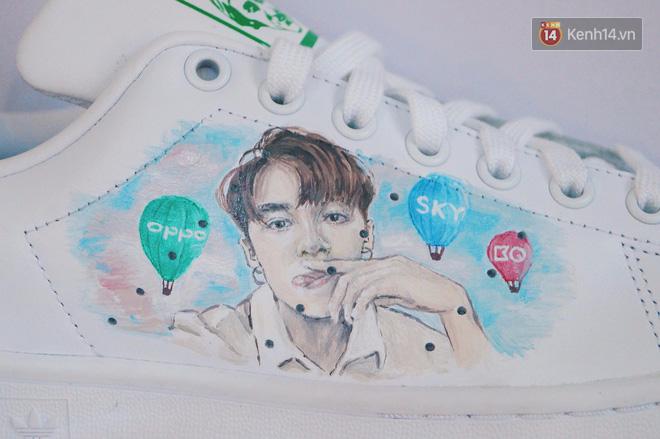 Đôi sneaker mà Sky nào cũng thèm muốn: adidas Stan Smith độ Sơn Tùng M-TP - Ảnh 9.