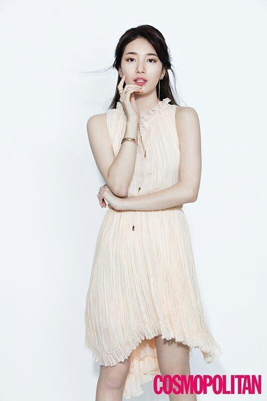 Suzy xinh đẹp nhưng style nhạt hơn hẳn các sao nữ khác trên tạp chí tháng 1 - Ảnh 5.