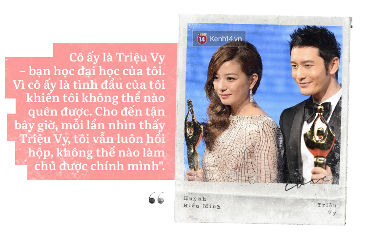 Huỳnh Hiểu Minh - Triệu Vy: Có một mối lương duyên mang tên tỏ tình thất bại - Ảnh 1.