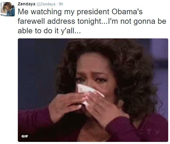 Loạt sao thế giới tiếc nuối khi ông Obama chia tay Nhà Trắng - Ảnh 2.