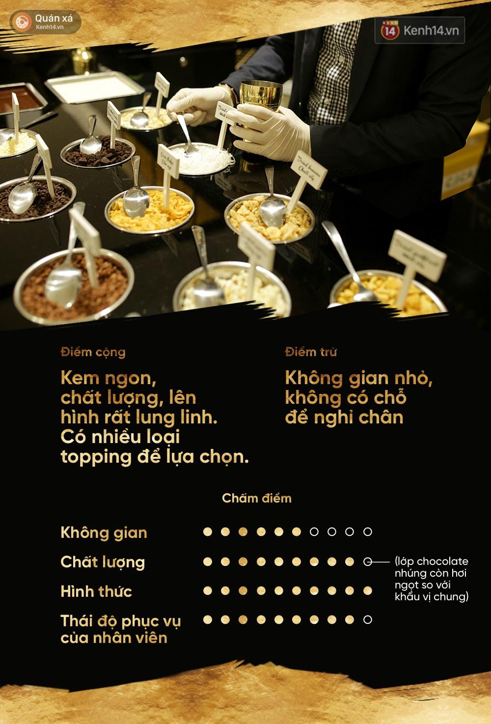Kem vani, kem chocolate là xưa rồi, giờ người ta ăn kem với vàng 24k và mì tôm, ớt bột cơ! - Ảnh 16.