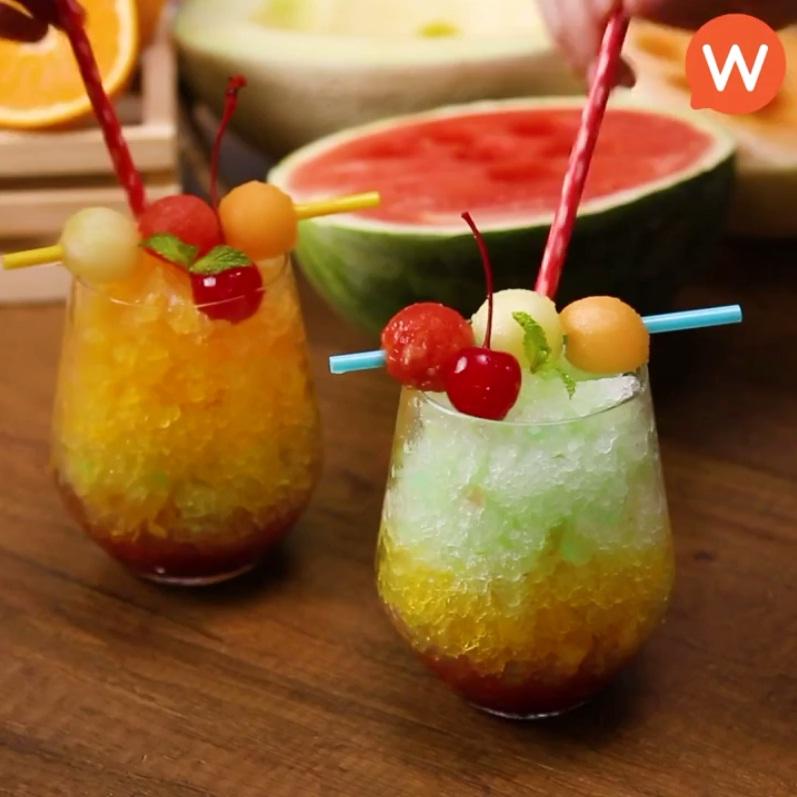 Không cần máy bào nước đá vẫn có thể làm ra ly đá bào trái cây ngon tuyệt thế này - Ảnh 9.