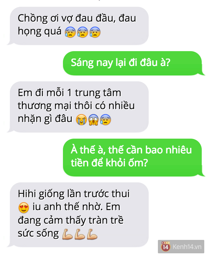 Trời nóng dễ ốm nhắn tin than thở với người yêu mà lại bị troll đau đớn như này đây! - Ảnh 11.
