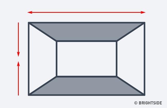 7 cách hô biến căn phòng của bạn trở nên rộng lớn hơn chỉ nhờ ảo ảnh thị giác - Ảnh 2.