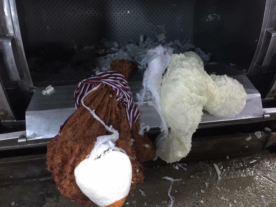 Nhờ người yêu giặt hộ gấu bông, cô gái cười ra nước mắt khi nhận về một đống vải rách - Ảnh 3.