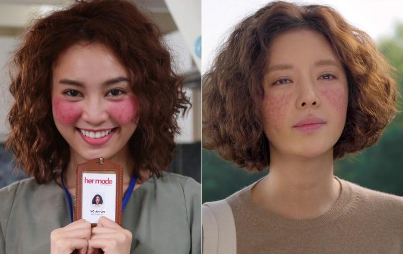 She Was Pretty Việt tung hình ảnh chính thức, fan thở phào vì má An Chi không còn đỏ như cạo gió - Ảnh 2.