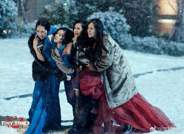 Mang thai vẫn bạt mạng đóng phim, chỉ có thể là 6 nữ diễn viên Hoa Ngữ này! - Ảnh 2.