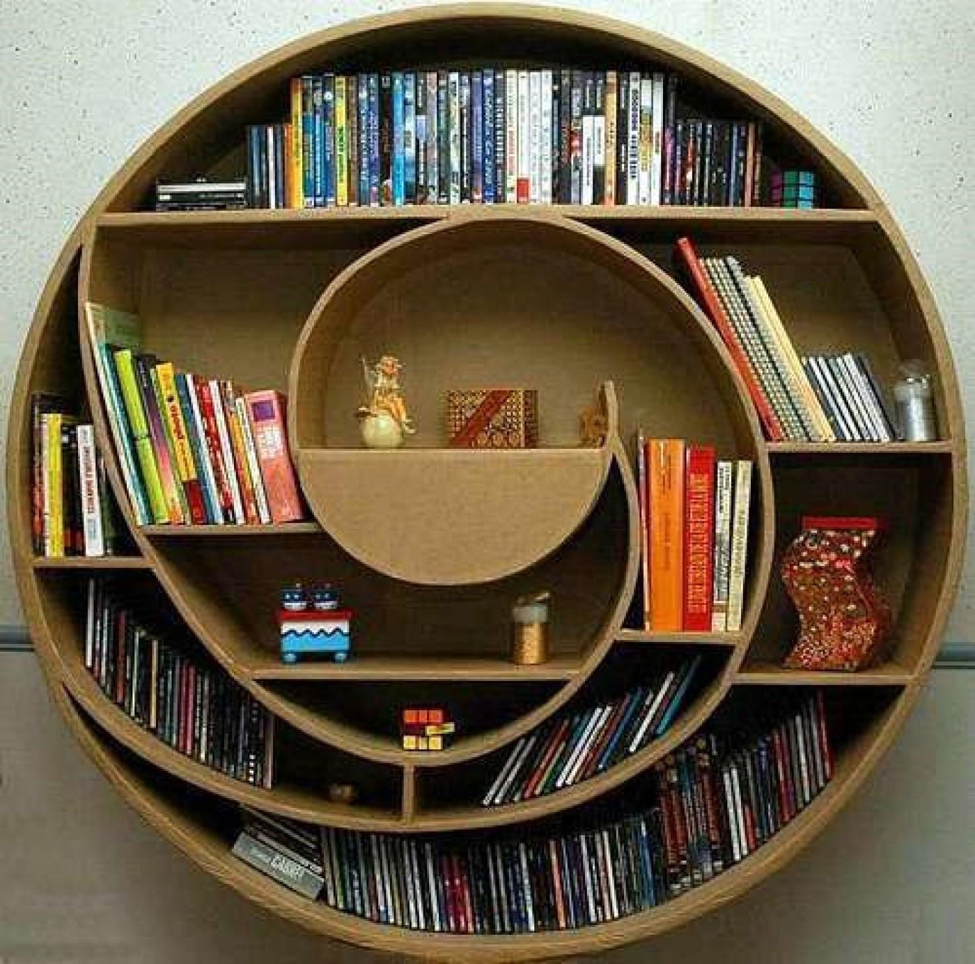 20 mẫu giá sách đẹp xuất sắc dù là người không thích đọc sách cũng muốn có trong nhà - Ảnh 3.