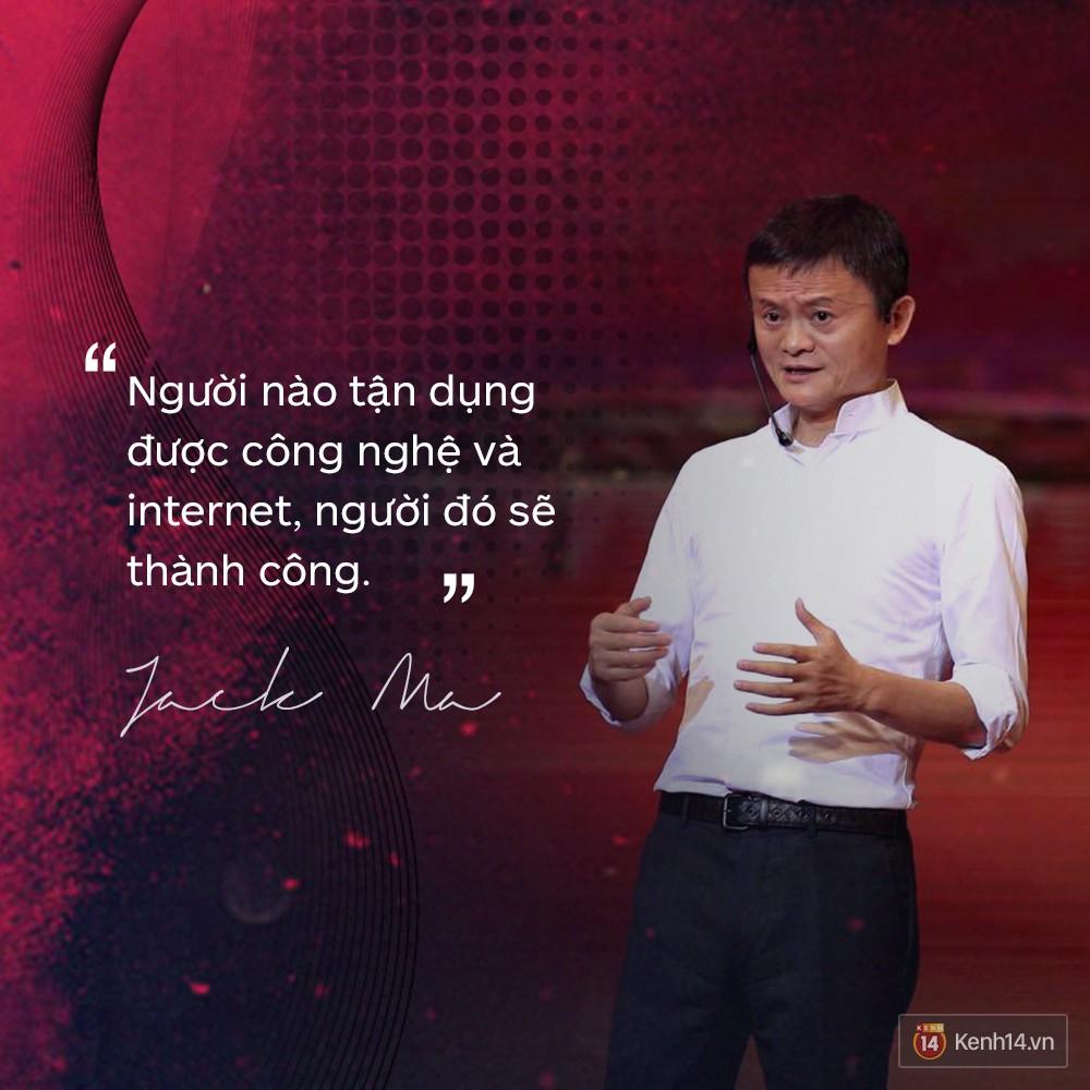 Loạt phát ngôn đầy cảm hứng tỷ phú Jack Ma vừa gửi đến các bạn trẻ Việt Nam - Ảnh 4.