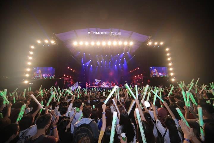 """Hoàng Touliver, SlimV cùng các nghệ sĩ quốc tế làm bùng nổ đêm nhạc đầu tiên của """"Monsoon Music Festival 2017 by Tuborg"""" - Ảnh 8."""