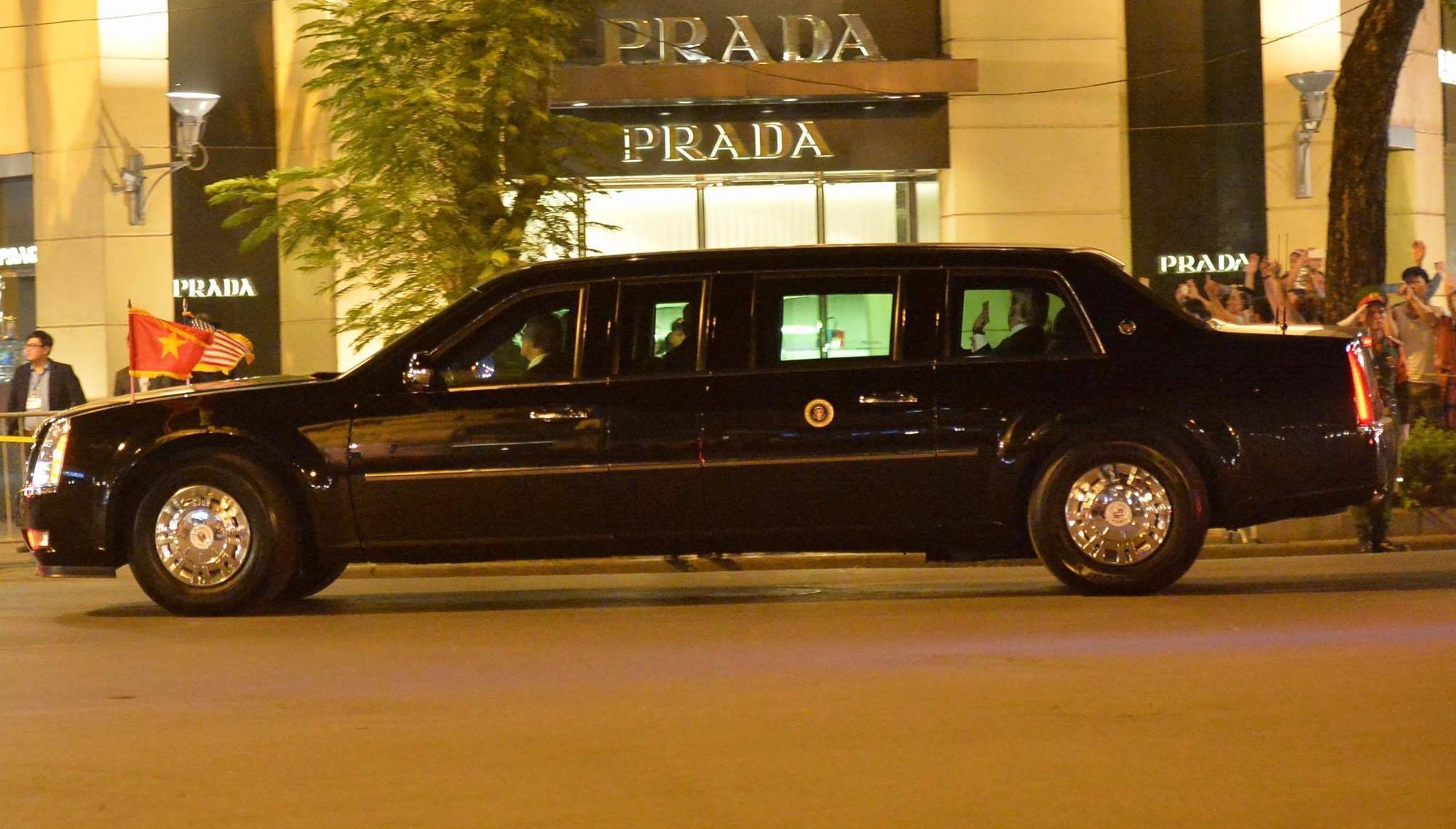 Tổng thống Mỹ Donald Trump đến Hà Nội, an ninh thắt chặt ở các tuyến phố trung tâm - Ảnh 23.