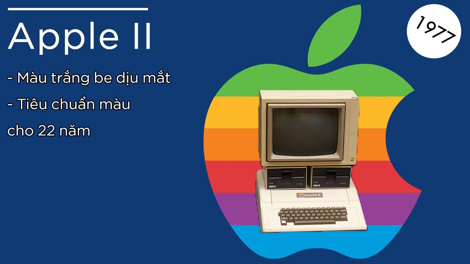 Từ Apple I đến iPhone X: Lịch sử màu sắc 3 chìm 7 nổi của Apple - Ảnh 2.