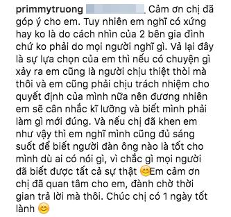 Primmy Trương nói về Phan Thành: Nếu có chuyện gì xảy ra, em cũng là người chịu thiệt thòi mà thôi? - Ảnh 3.