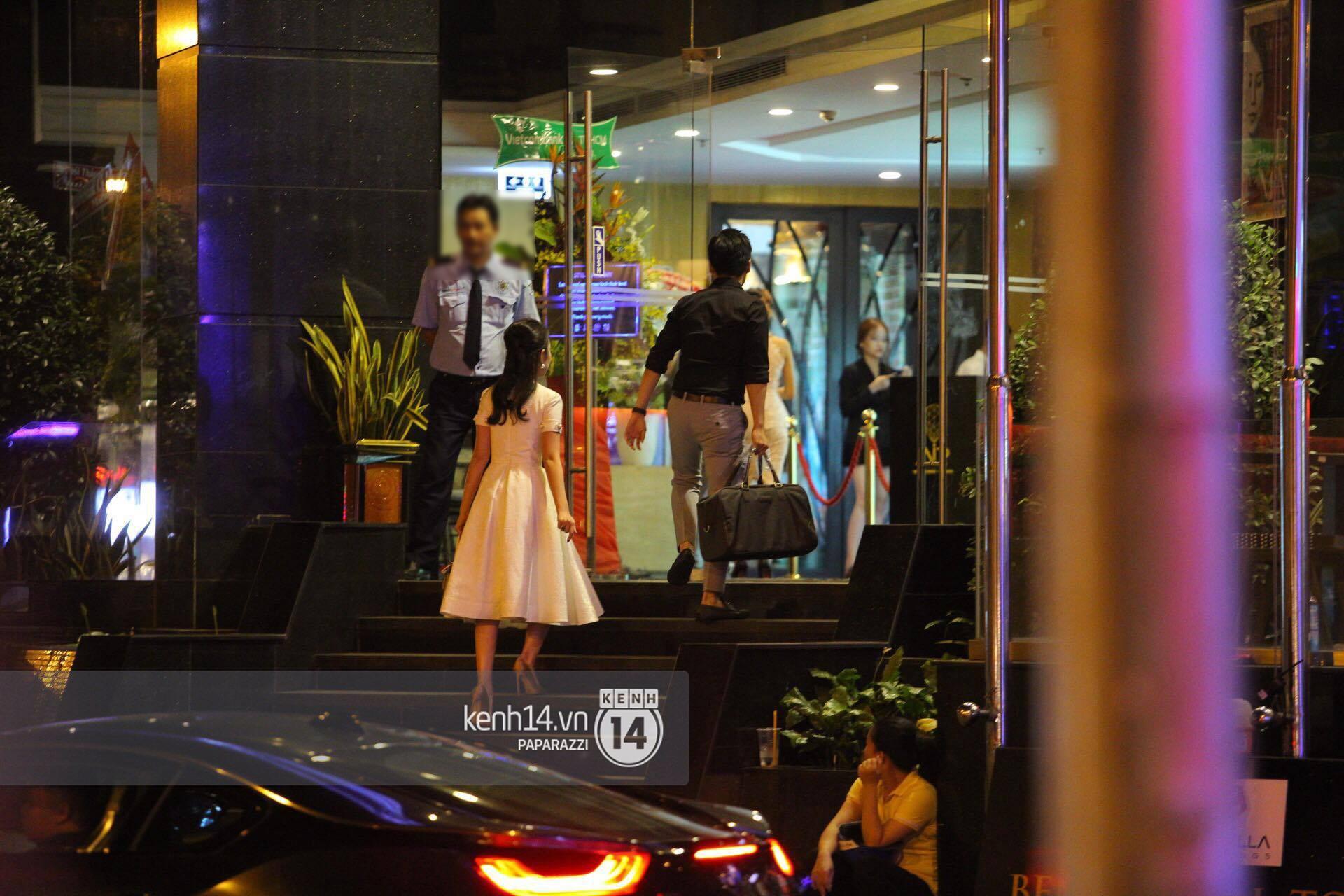 Bắt gặp Phan Thành - Primmy Truong nắm tay tình tứ sau tiệc sinh nhật - Ảnh 4.