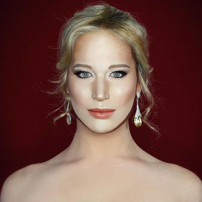 Nghệ sĩ trang điểm có thể hóa trang thành hàng trăm khuôn mặt khác nhau mà không cần photoshop - Ảnh 5.