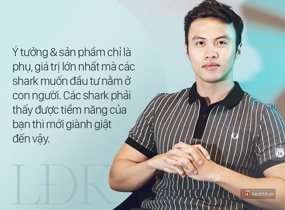 Shark Lê Đăng Khoa: Trẻ nhất, ít tiền nhất nhưng tự tin là người có khả năng xây dựng thương hiệu tốt nhất! - Ảnh 5.