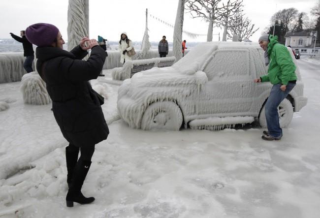 16 khung cảnh kỳ diệu chỉ có thể nhìn thấy vào mùa đông giá rét - Ảnh 3.