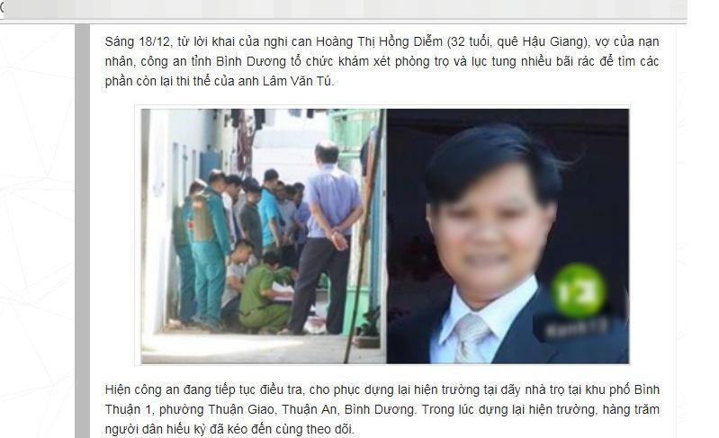 Người đàn ông ở Quảng Nam hoang mang vì bị nhầm thành người chồng trong vụ giết người phân xác ở Bình Dương - Ảnh 1.