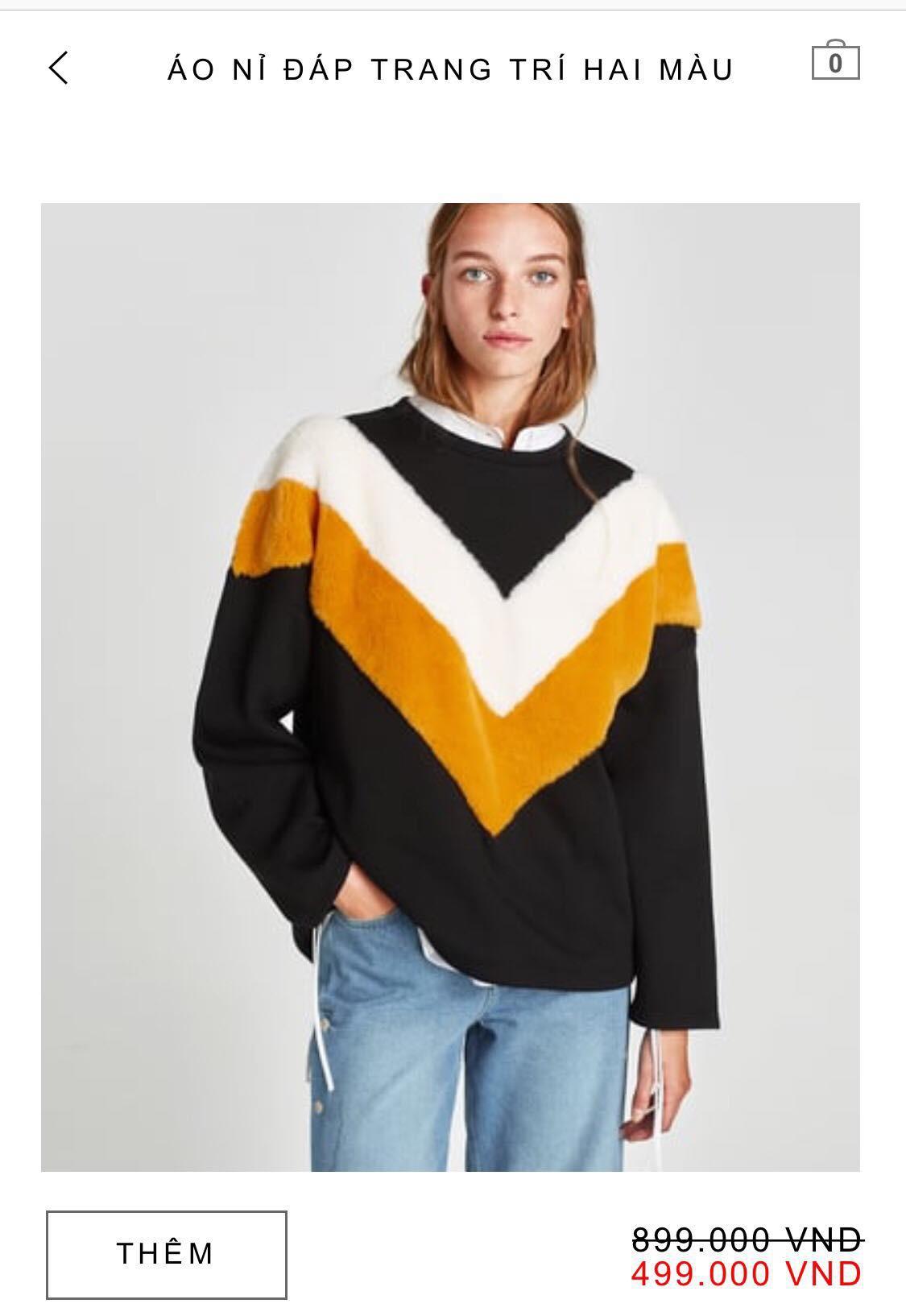 14 mẫu áo len, áo nỉ dưới 500.000 VNĐ xinh xắn, trendy đáng sắm nhất đợt sale này của Zara - Ảnh 11.