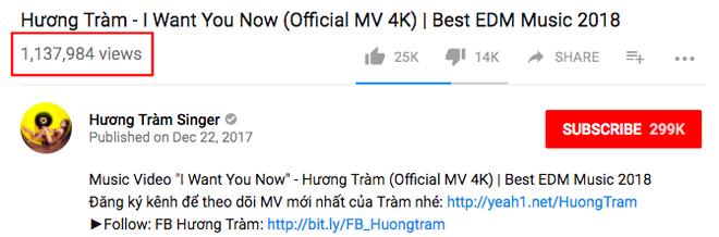 """Hậu """"đá xoáy"""" Chi Pu, Hương Tràm đã thay đổi điều này trong phần tựa MV mới của mình trên Youtube"""
