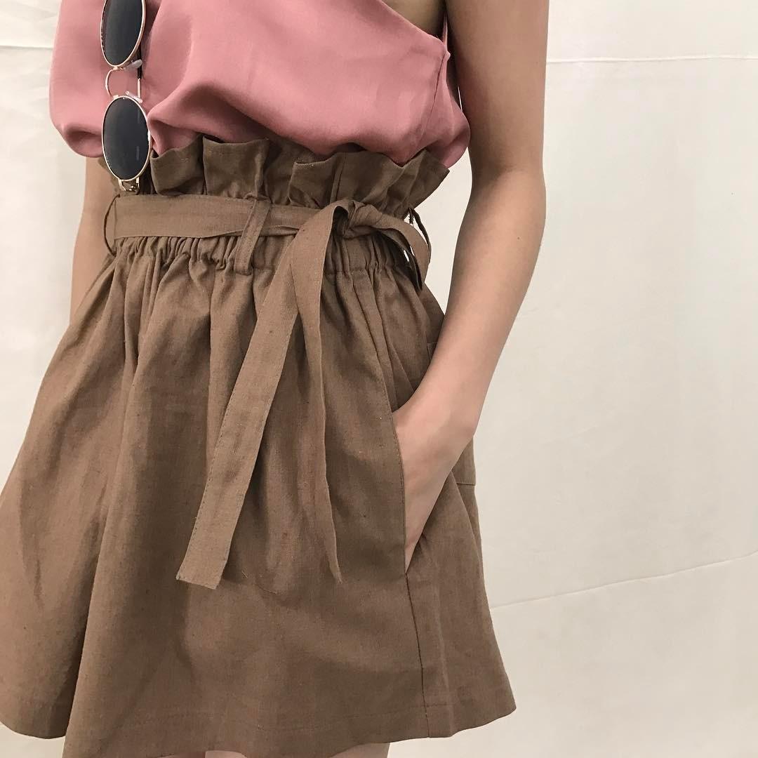 Ngay cả khi không thích quần vải, các cô nàng cũng sẽ đổ đứ đừ trước kiểu quần thắt nơ xinh xắn này - Ảnh 16.