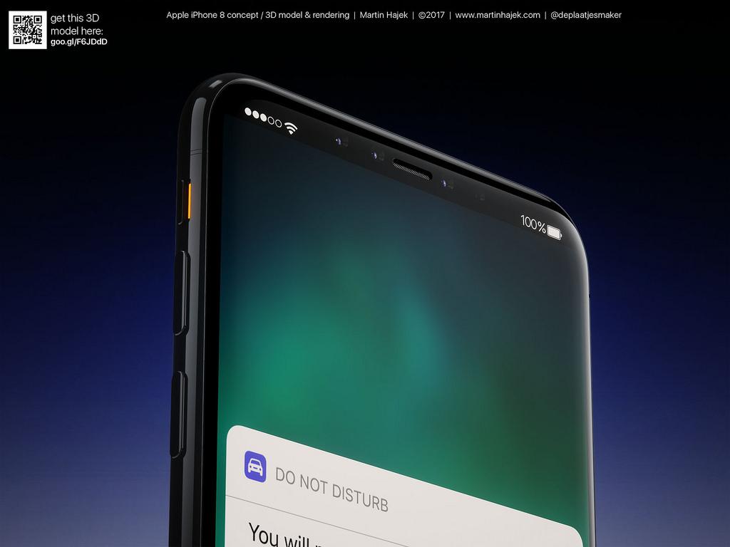 Cận cảnh vẻ đẹp mê mẩn của iPhone 8 có thể làm bạn dốc hết hầu bao để mua ngay - Ảnh 13.