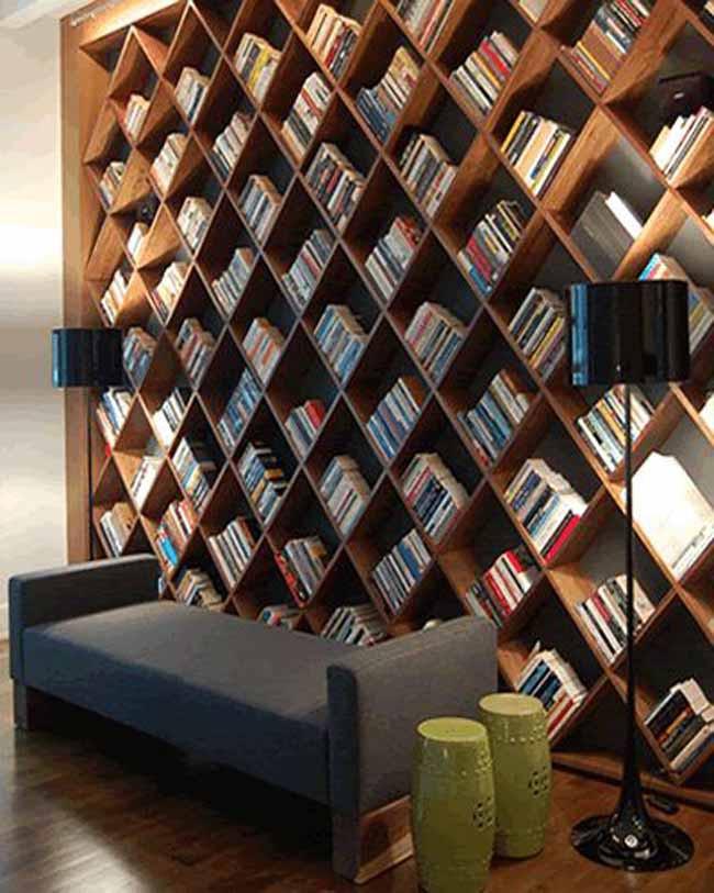 20 mẫu giá sách đẹp xuất sắc dù là người không thích đọc sách cũng muốn có trong nhà - Ảnh 39.